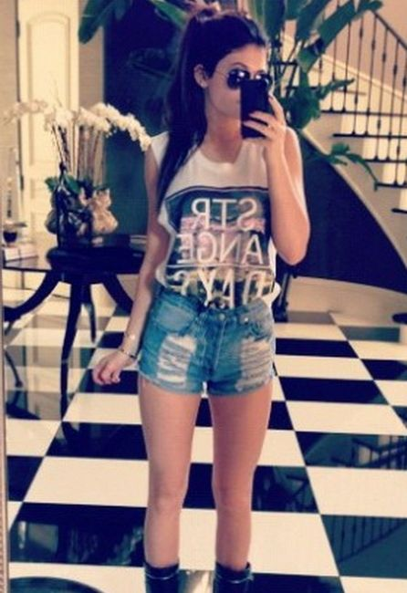 kylie jenner outfits - I love her style