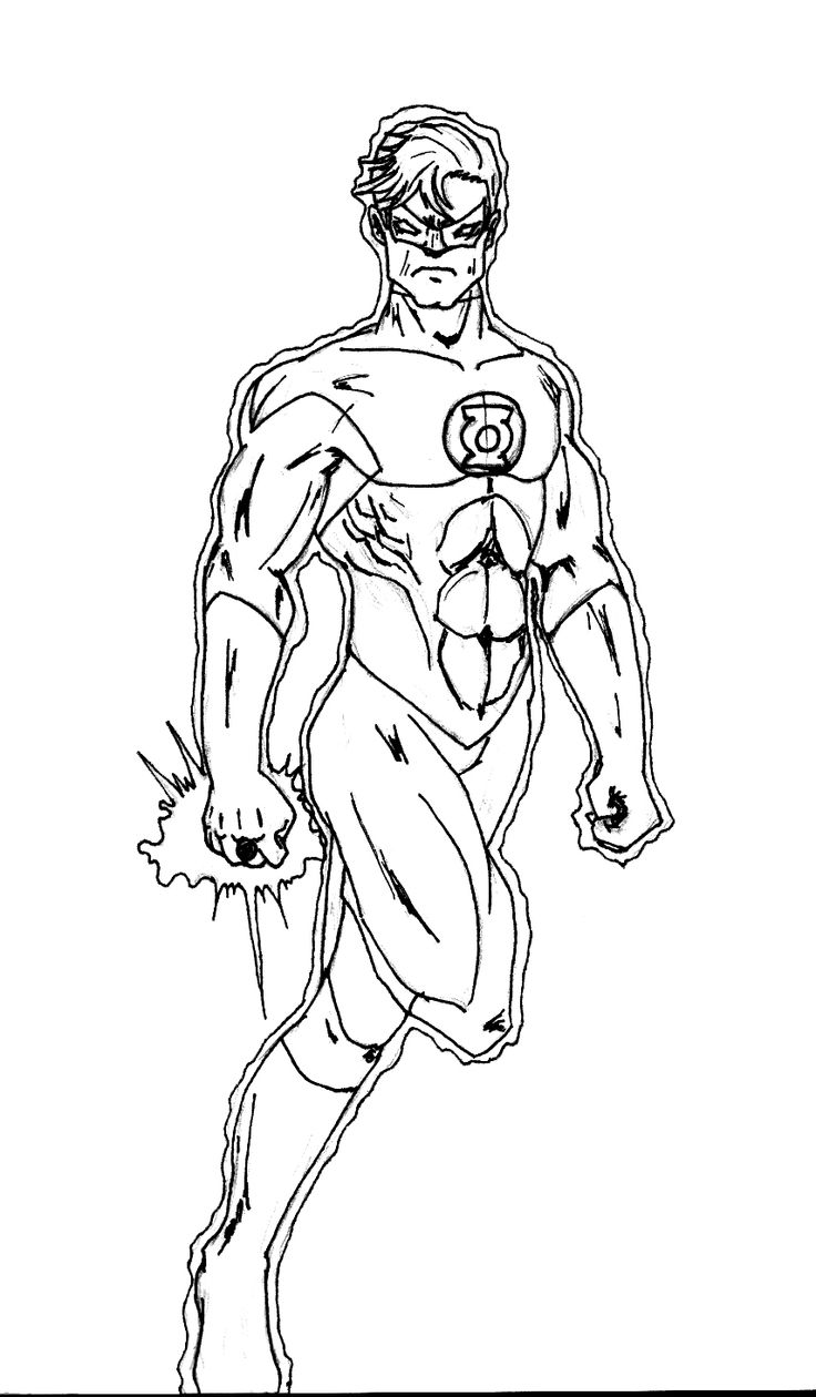 Printable coloring pages justice league - Kids Superhero Coloring Pages