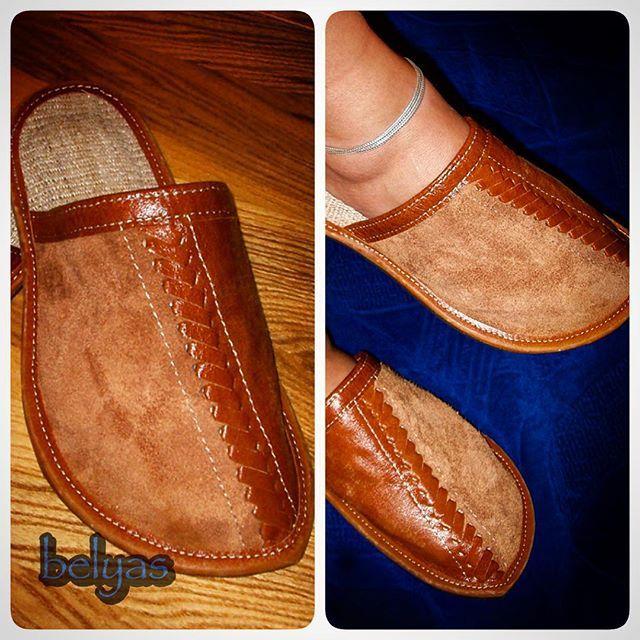 Ещё одни тапки-релаксапки из кожи и конопляной ткани. Уютность и удобность! http://belyas.ru/  #белыйясень #творческаямастерская #нашатстория #историямастерской #историязаказов #кожа #конопля #проплёт #тапочки #домашние #коричневые #ручнаяработа #уют #комфорт #belyas #leather #leathercraft #handmade #craft #cuero
