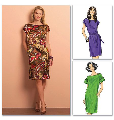 Butterick B5211 - think this one is the same pretty much as B5210, but with no neckband.  Looks EASY