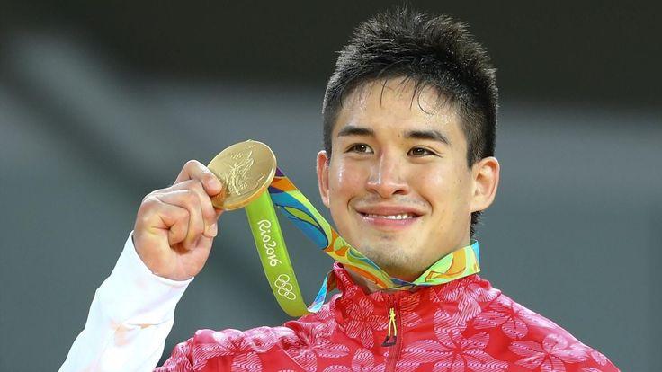 Baker wins -90kg men's judo in golden day for Japan