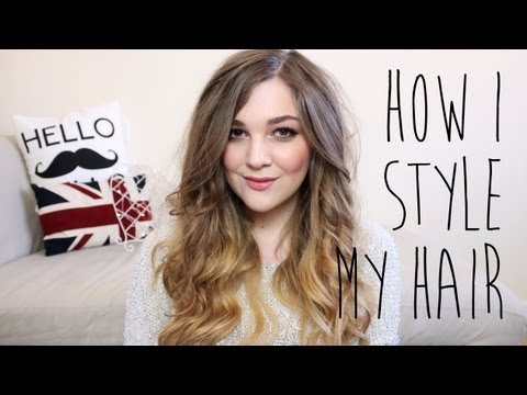 How I Style My Hair: Big Messy Curls | I Covet Thee