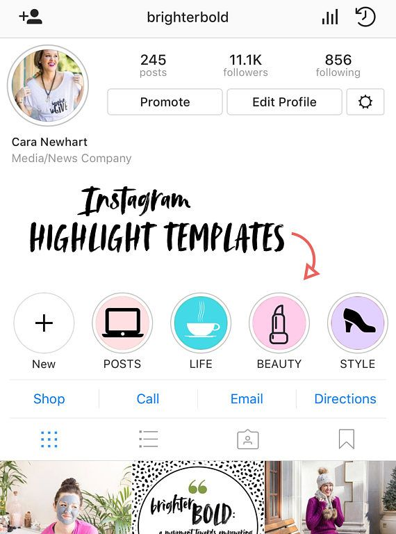 Instagram Story Highlight Templates Simply Upload Them As A Story Insert The Related Link Via The Swipe Up F Instagram Story Story Highlights Blogging Advice