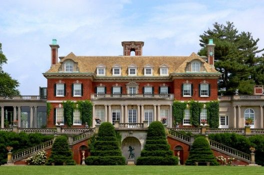 Long Island's Gold Coast on the north shore-The Phipps estate, part of Old Westbury Gardens.   Scenes from many movies have been filmed here eg; North by Northwest.