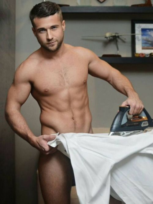 Nude Dudes Cleaning 3