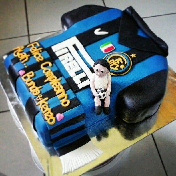 inter milan cake