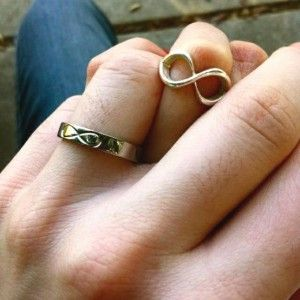 I love the idea of a promise ring with yur special someone :) it's so sweet and classy, very old school! I think it's a trend that the young men of today should bring back <3