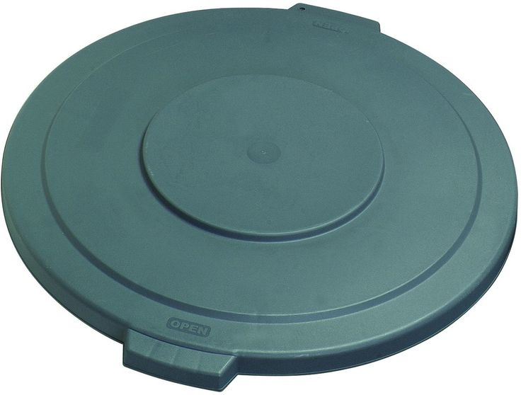 Carlisle 34104523 Gray Waste Container Lid For 44 Gal