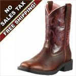 View: Ariat Work Boots Krista Pull On Steel Toe