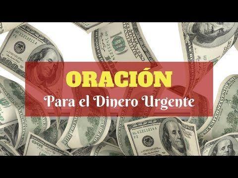 ORACIÓN para el Dinero Urgente - YouTube