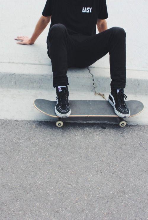 "Logan) ""Anyone up for skateboarding?"""