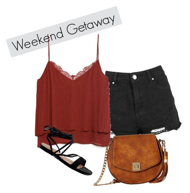 """Weekend Getaway"" by lizdalma on Polyvore featuring Zara, Gabriella Rocha and Boohoo"