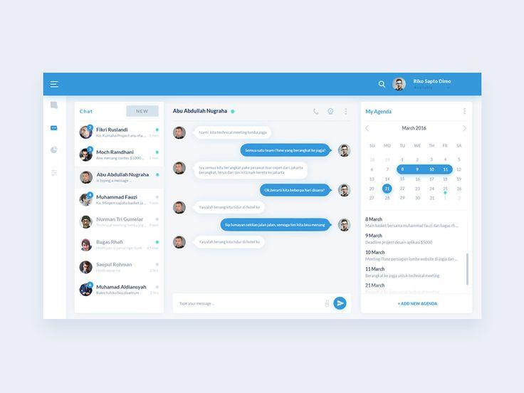 Chat Dashboard App