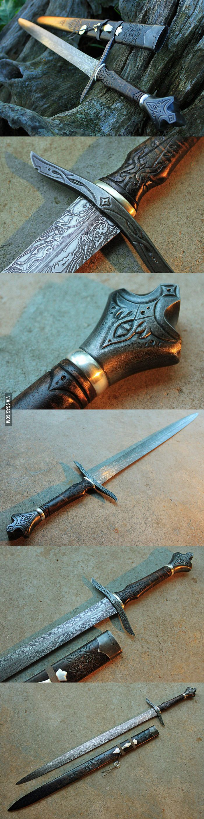 Are we still into swords? Here's an amazing one from Cedarlore Forge - 9GAG