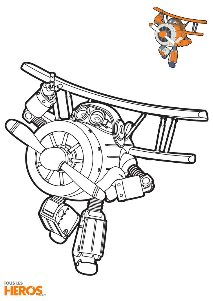 Jett Ausmalbilder Super Wings Auto Electrical Wiring Diagram