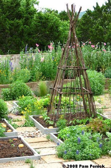 English style kitchen garden | jardin potager | bauerngarten | köksträdgård