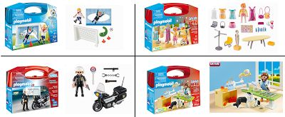 Playmobil carry kits! Win all four! Ends 9/5 US entrants only