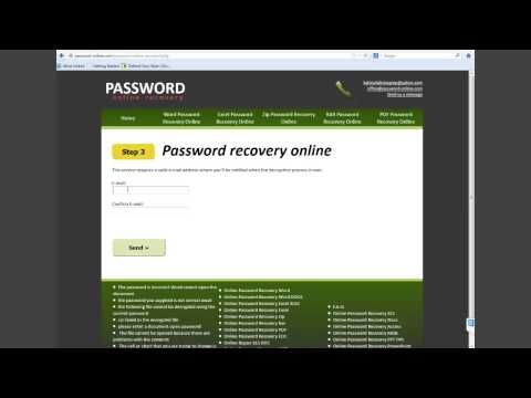 ods password recovery online