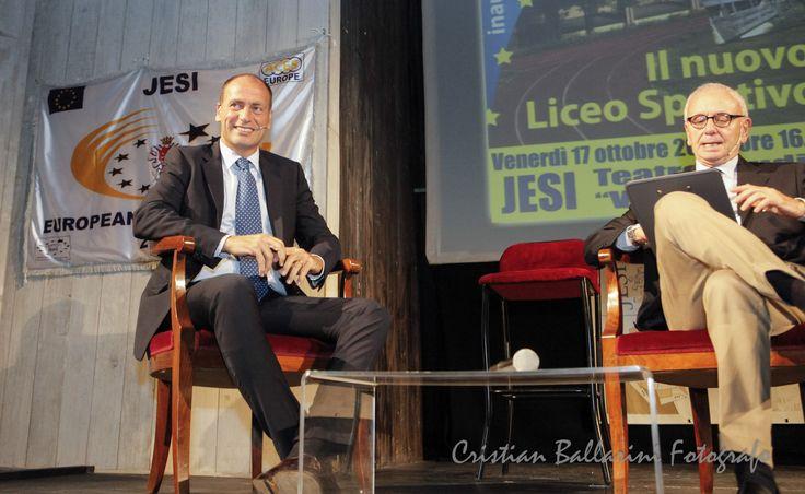 #jesicittaeuropeadellosport2014 - 17 Ottobre Inaugurazione del Liceo Sportivo con Luca Marchigiani