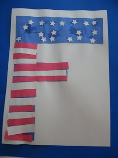 'Ff' is for flag..Gian wanted his to be heavy on the stars and easy on stripes.