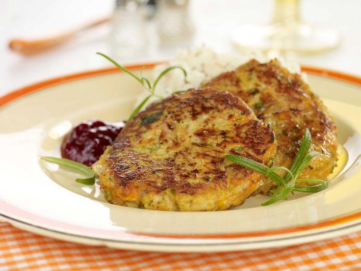 Oppskrift på vegetarkarbonader med smak av sennep og persille. Prøv en kjøttfri…