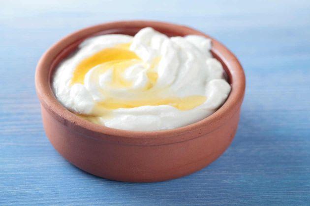 Yogurt con miel