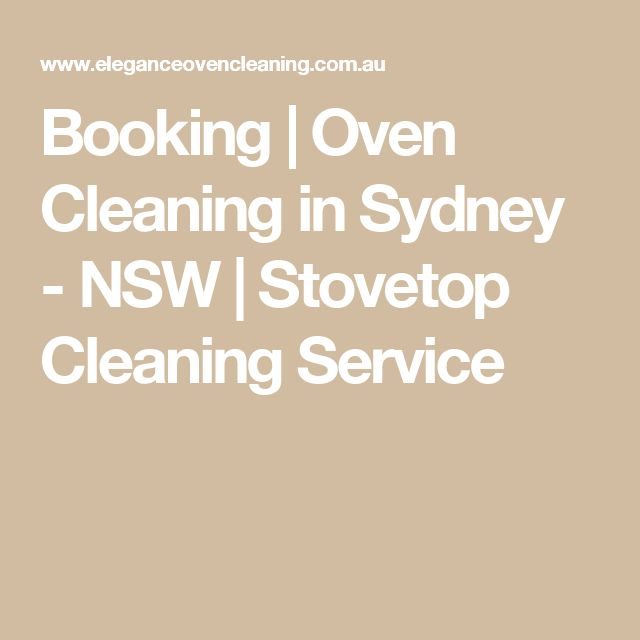 Booking   Oven Cleaning in Sydney - NSW   Stovetop Cleaning Service