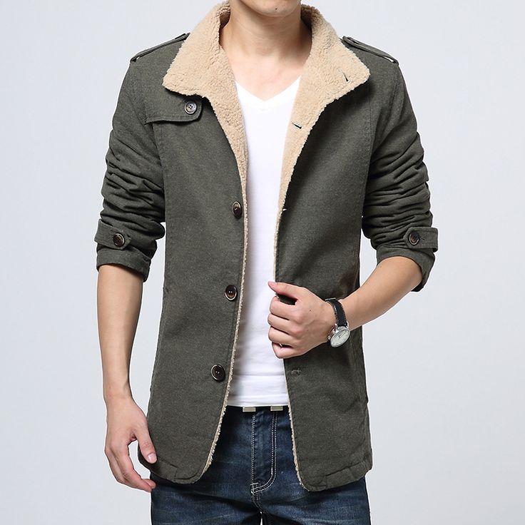 Дешевое 2014 зимняя мода мужская шерсти ягнят шерстяной подкладкой куртки пальто, мужской толстые теплые куртки верхняя одежда мужской тонкой пригонки пальто, T2826, Купить Качество Куртки непосредственно из китайских фирмах-поставщиках:           2014 Новый 90% утиный белый вниз зима новые толстые теплые вниз куртки зимние куртки мужчины M, L, XL, XXL, XX