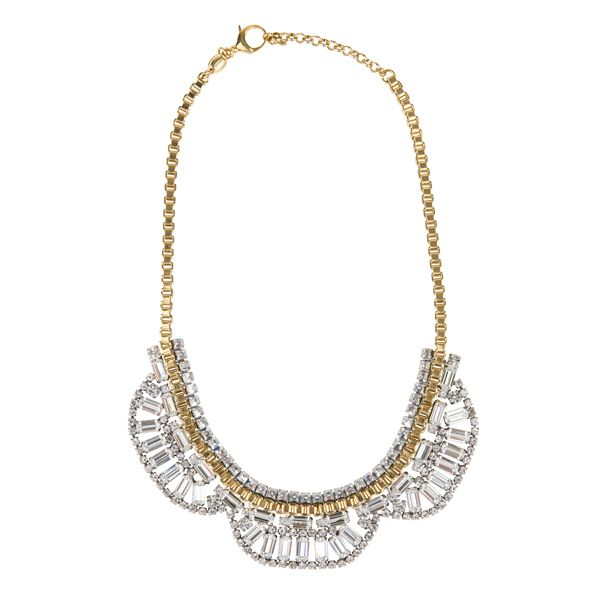 Silver&gold statement necklace from #Fossil #DesignerOutletParndorf