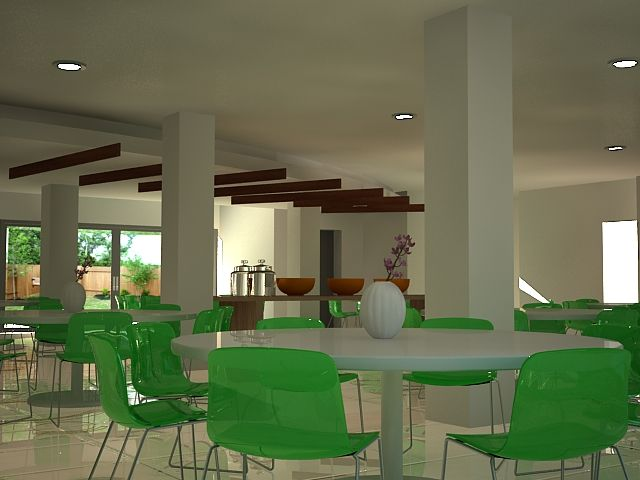 first attempt using vray for rendering