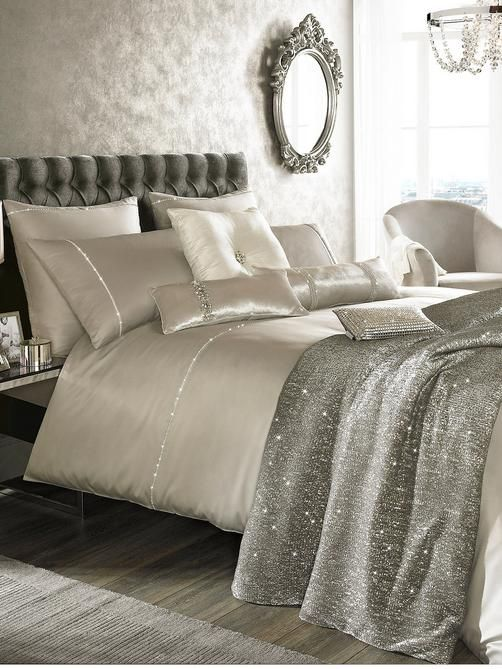 Best 25 Silver Bedding Ideas Only On Pinterest