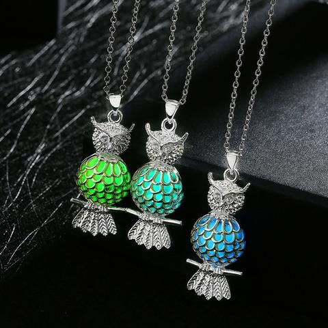Owl Luminous Necklace