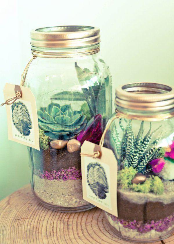 Mason Jar : 10 manières de le détourner - Marie Claire Maison