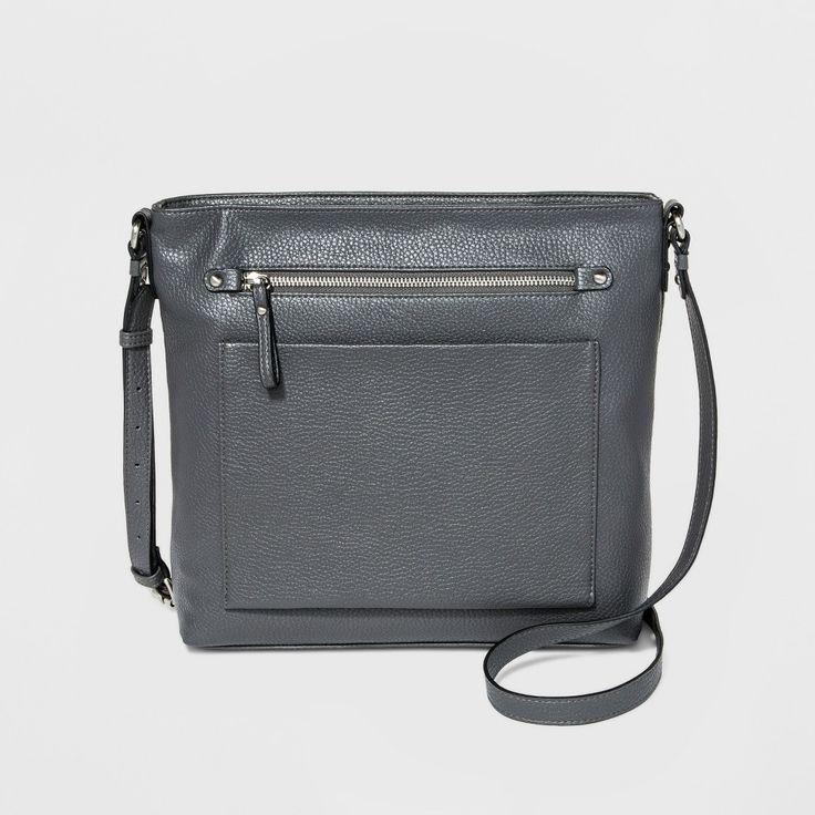 Women's Large Crossbody Handbag - Merona Hearthstone
