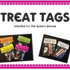 I created these tags to be used for back to school night and the first day of school.I used jewelery bags from Walmart and simply stapled on the ...