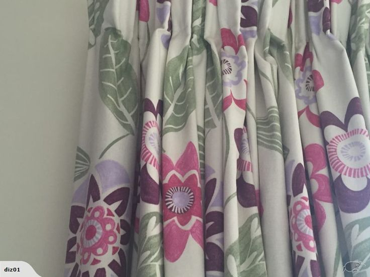 Two sets of Beautiful coloured thermal curtains.