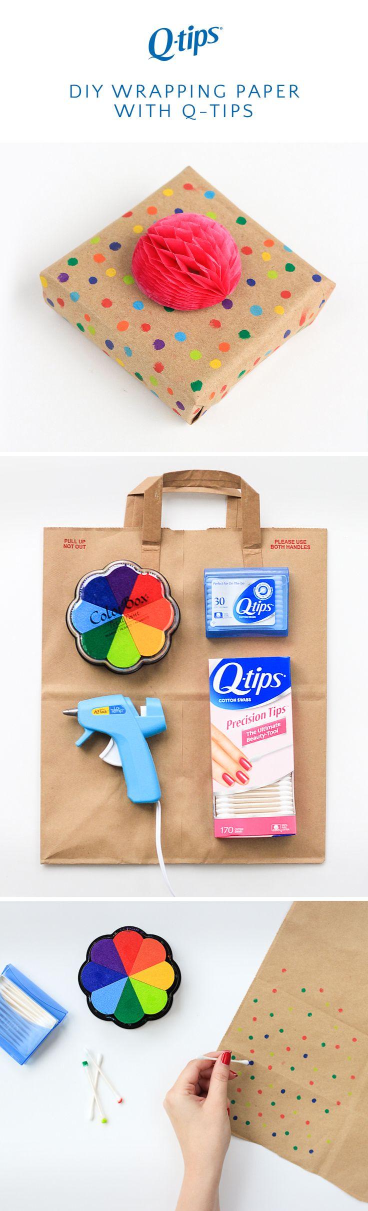 3 Last Minute Gift Wrap DIYS