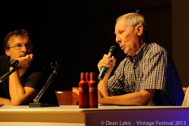 Stefano Tamiazzo introducing the great Bruno Bozzetto, academy award nominated, as guest star at Vintage festival 2013 in Padova-Italy. #brunobozzetto #vintagefestival #padova #animation #stefanotamiazzo