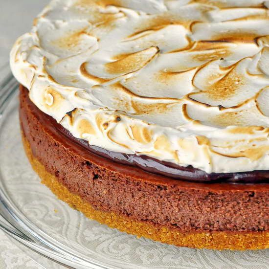 mores Cheesecake | Baking and Desserts | Pinterest