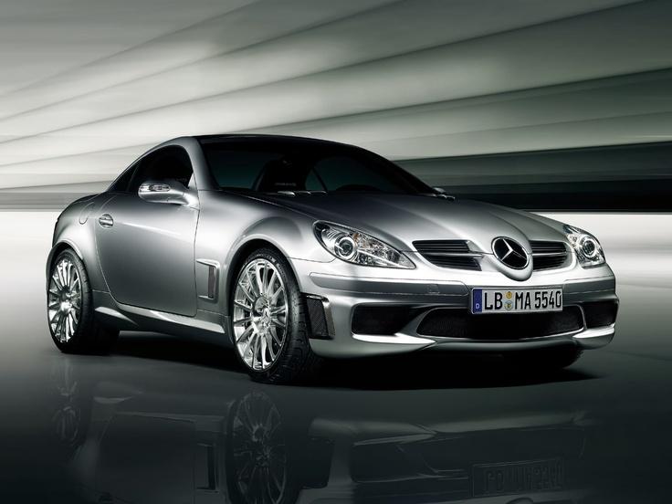Mercedes SLK55 - gorgeous car