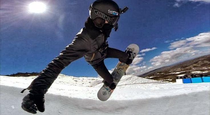 Snowboarden : Krass - Shaun Whites Debut eines neuen Snowboard Halfpipe Trick für die Olympischen Spiele 2014 in Sotschi (1 Video ) - Atomla...
