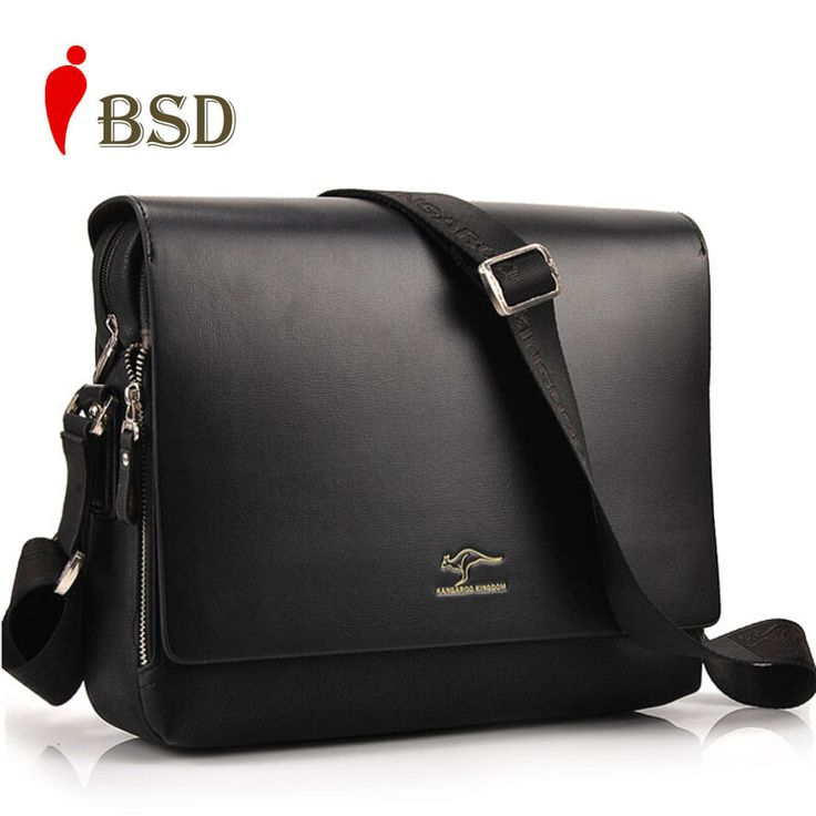 2015 Designer Kangaroo Brand men messenger high quality bags shoulder-bag Genuine pu Leather Men Bag men's business bag V1B33 -  http://ow.ly/10mjkI