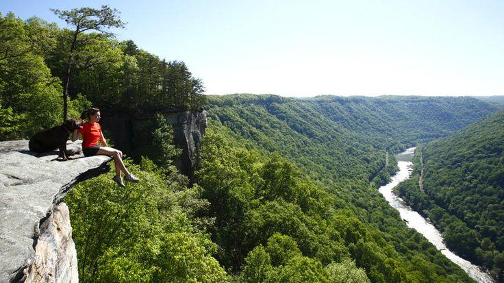 White Water Rafting Virginia Natural Bridge
