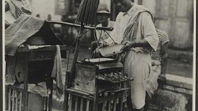 penjual sate di jogjakarta-1939