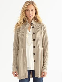 : Ribs Cardigans, Cute Sweaters, Ribs Sweaters, Style Pinboard, Shoes Style Bananarepubl Com, Sweaters Coats, Bananas Republic, Christmas Gifts, Big Comfy Sweaters