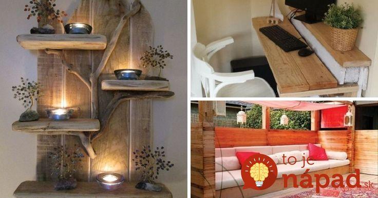 Nekupujte drahý nábytok: Tieto krásne kúsky do bytu si môžete zhotoviť celkom sami!