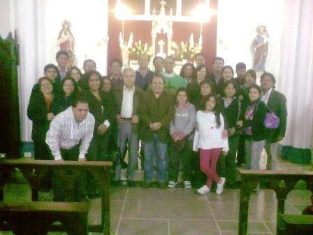 Misa por el 19° aniversario de HC & Asociados. Iglesia del colegio La Reparación, Miraflores. 6 de julio de 2012.