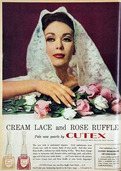 Vintage nail polish advertising:  From 1963