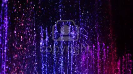 Stock Footage: Slow motion of colored fountain with water streams rising high and splashing   ID:29813672 @ 123RF.com #stockfootage #stockvideo