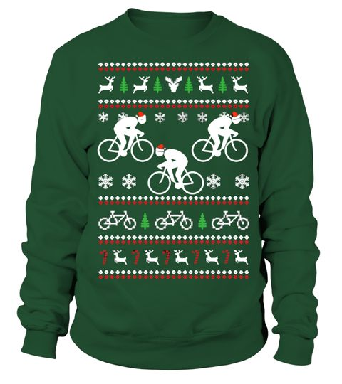 Cycling Christmas Sweater